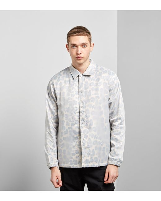 Stussy - Multicolor Translucent Coach Jacket for Men - Lyst