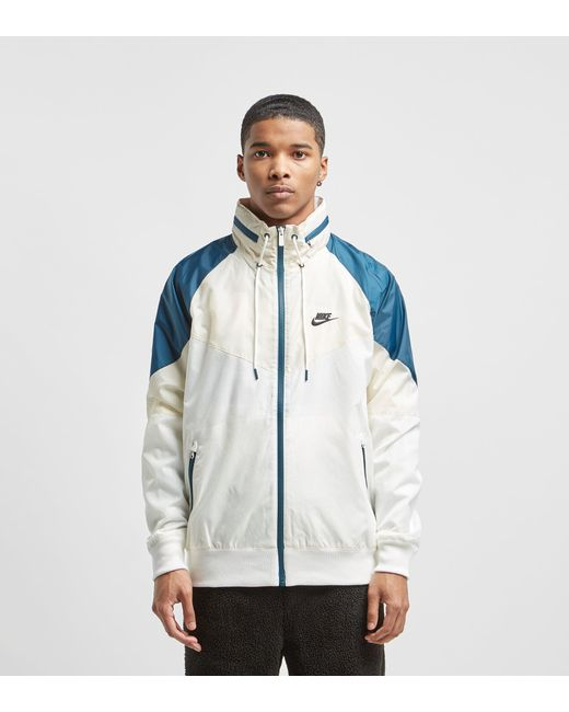 ff63086e784f Nike - White Windrunner Lightweight Jacket for Men - Lyst ...