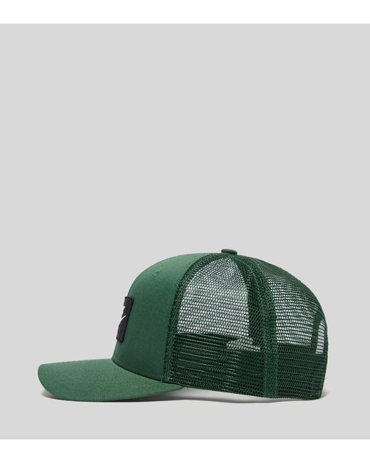 d46e0f23dbd07 ... Nike - Green Swoosh Trucker Cap for Men - Lyst ...