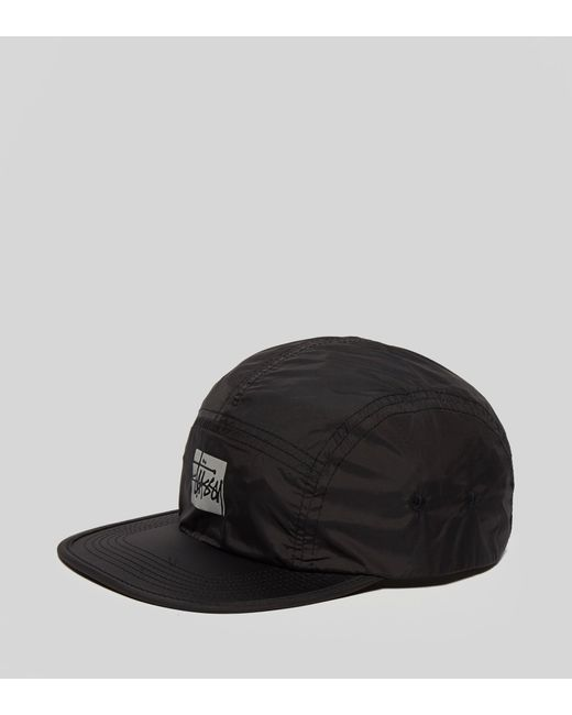 b85f113cac6 ... Stussy - Black Reflective Camp Cap for Men - Lyst ... online store  18bbb ...