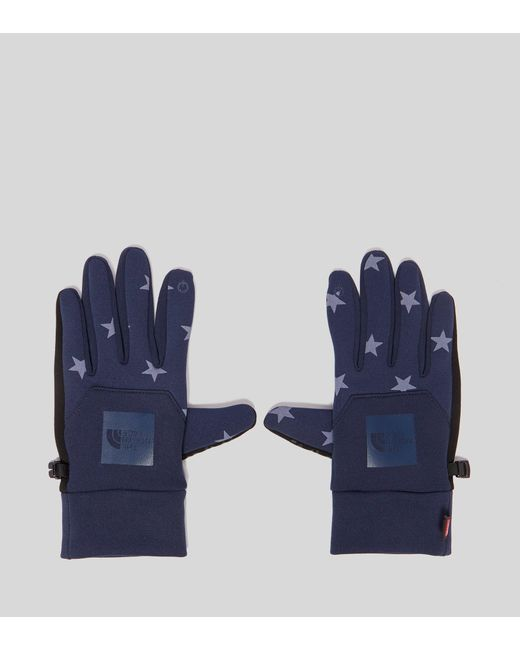 The North Face - Blue International E-tip Gloves for Men - Lyst
