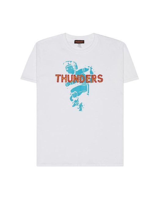 THUNDERS - The Witches Tomahawk T-shirt White for Men - Lyst