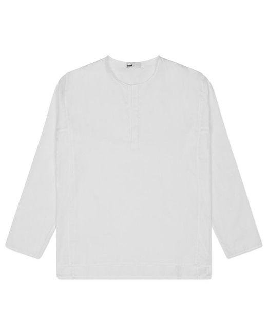 GmbH - White Kurta Tunic Shirt - Lyst