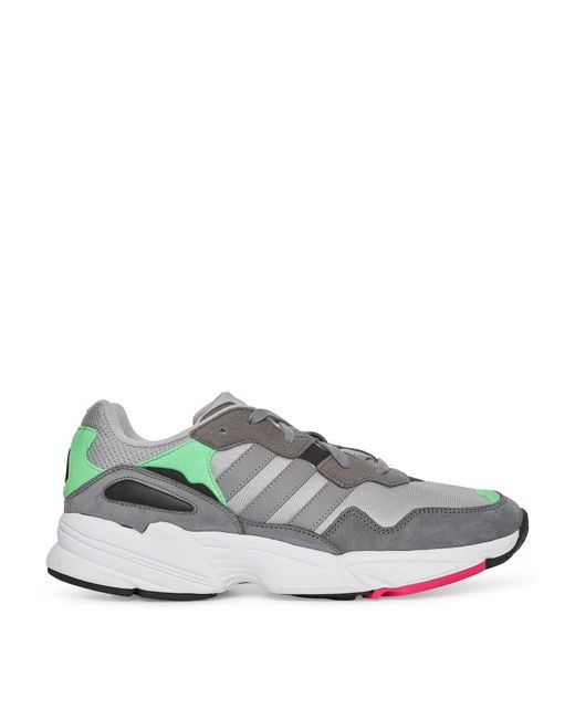 Adidas Originals - Gray Yung-96 Sneakers Grey grey Heather - Lyst ... 82a2911cd