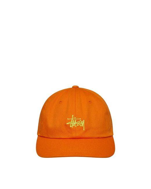 45c69d60c4a Lyst - Stussy Sp19 Stock Low Pro Cap in Orange for Men - Save 15%