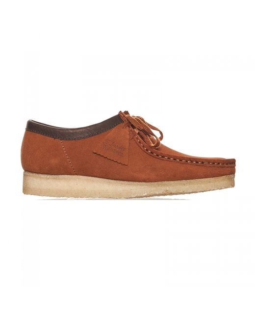 Clarks | Wallabee Brown for Men | Lyst
