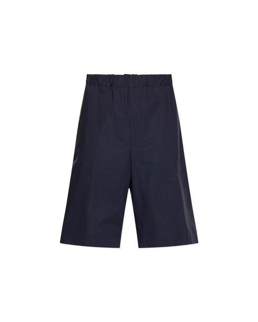 Jil Sander - Blue Paco Bis Shorts for Men - Lyst