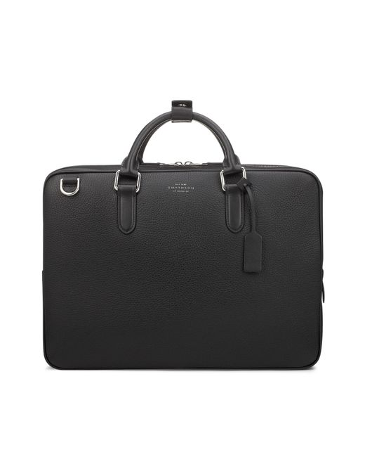 Smythson - Black Burlington Slim Briefcase for Men - Lyst