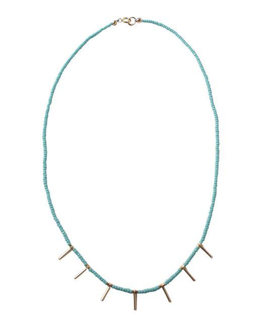 a.wattz dezigns - Metallic The Siete Necklace - Lyst
