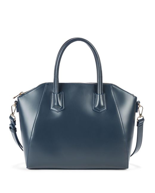 Sole Society - Blue Mikayla Medium Structured Satchel - Lyst