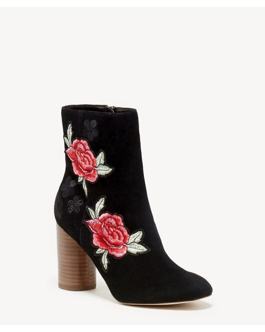 Sole Society - Black Mulholland Cylinder Heel Bootie - Lyst