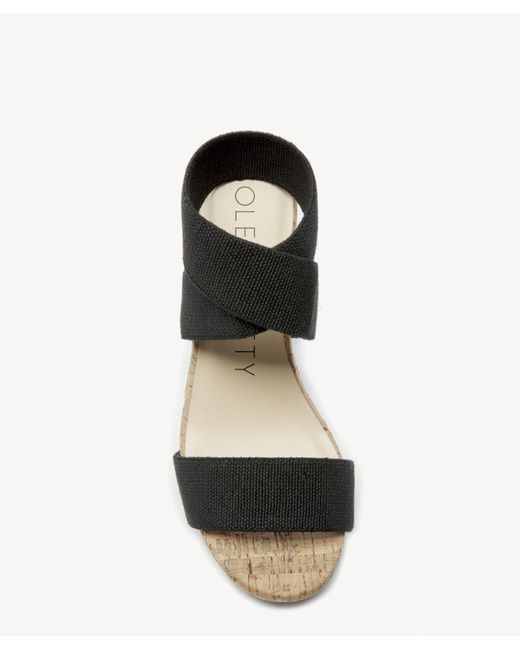 38797fd929cc ... Sole Society - Black Analisa Platform Wedge - Lyst ...