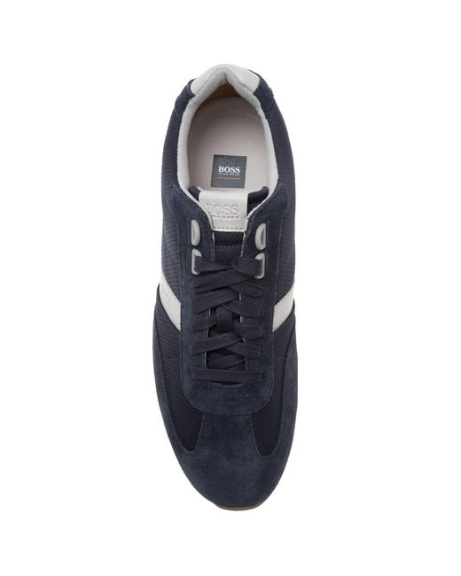 ... BOSS Orange - Blue Orland lowp sdny1 Trainers for Men - Lyst ... c067f458776