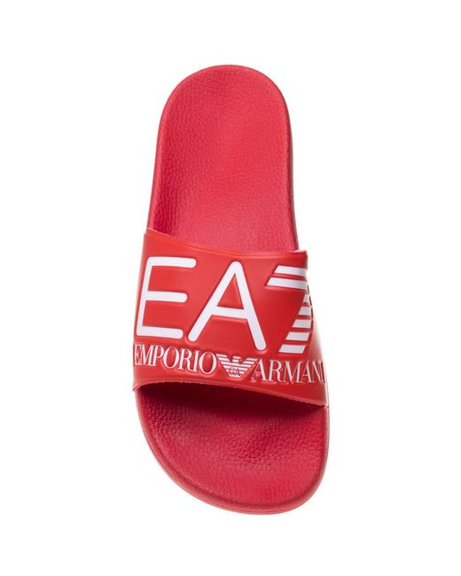 c508051ccd29 EA7 Sea World Visibility Sandals in Red for Men - Save 29% - Lyst