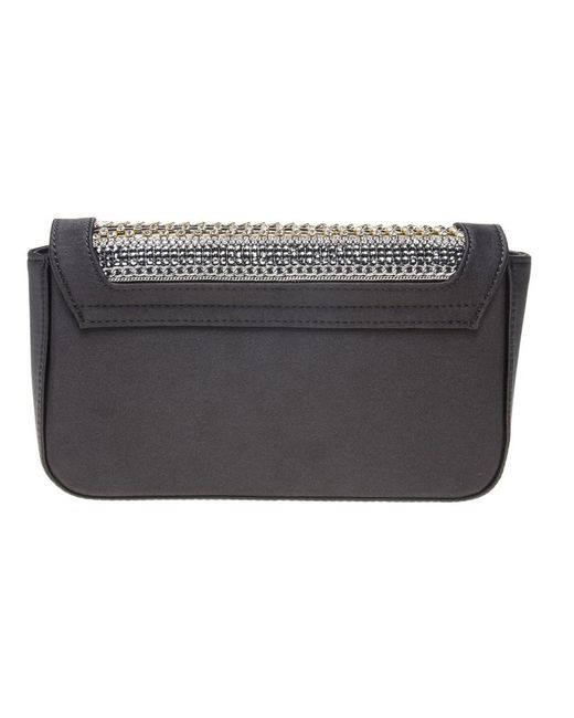 635ec733859 ... Love Moschino - Black Crystal Embellished Crossbody Bag - Lyst ...