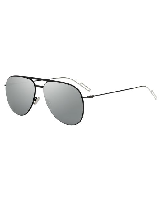Dior Homme | Black 0205 Aviator Sunglasses | Lyst