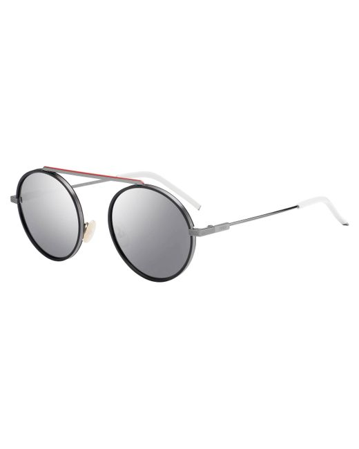 560265277a6b Fendi - Multicolor 0025 Round Sunglasses - Lyst