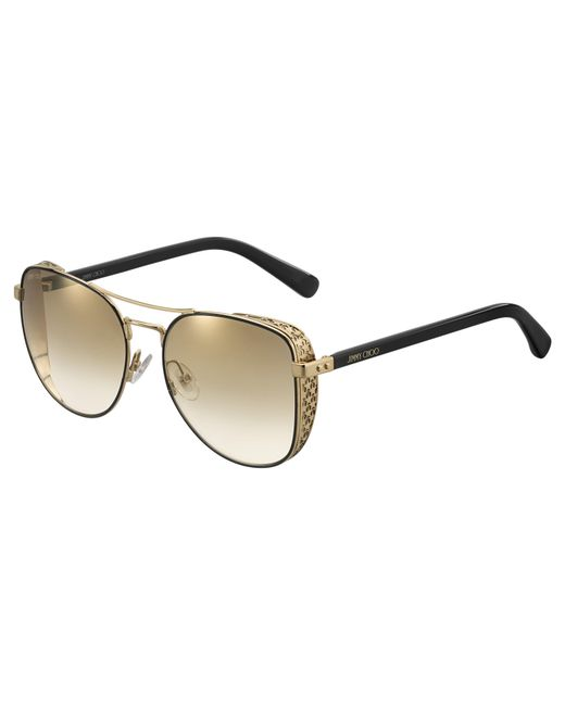 d5d2396fe458 Jimmy Choo - Multicolor Sheena Aviator Sunglasses - Lyst