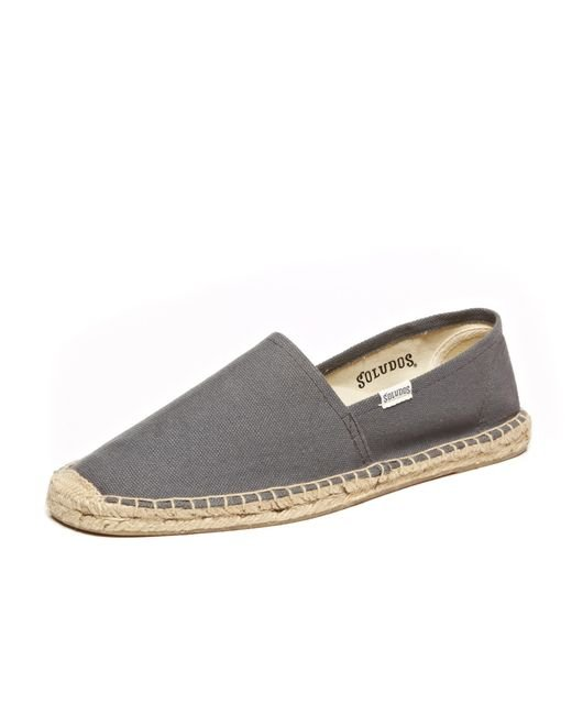 Soludos | Gray Men's Solid Original Dali Slip On for Men | Lyst
