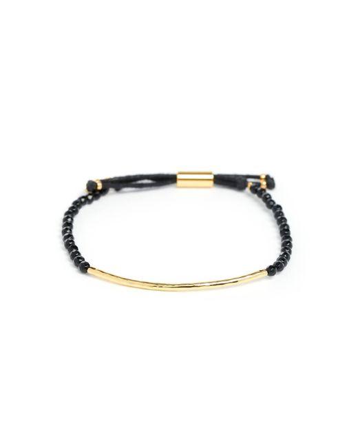 Gorjana | Black Protection Power Gem Stone Bracelet | Lyst