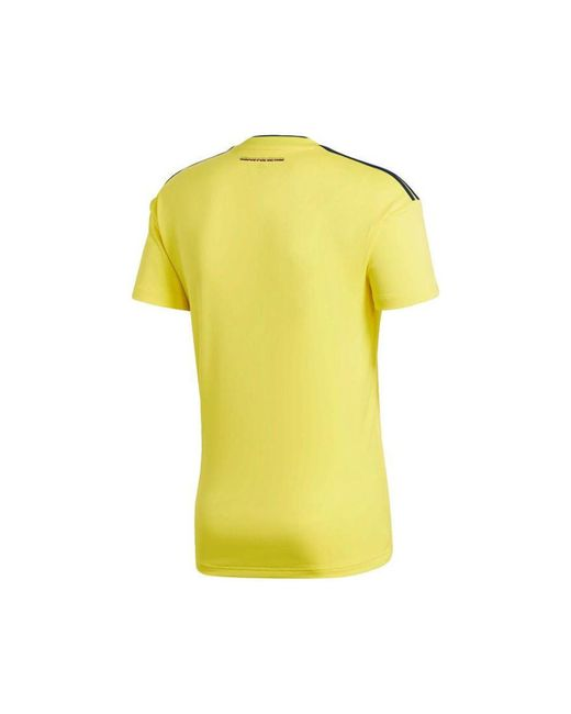 0351badcaaf ... Adidas - 2018-2019 Colombia Home Football Shirt Women s T Shirt In  Yellow for Men