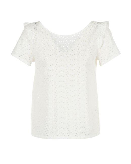 Betty London - Greg Women's Blouse In White - Lyst
