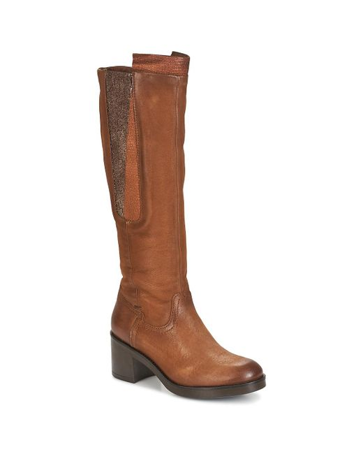 Dream in Green | Hufro Women's High Boots In Brown | Lyst