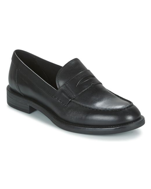 Vagabond | Amina Women's Loafers / Casual Shoes In Black | Lyst
