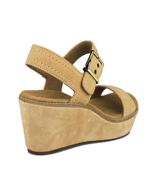 53c21fc284fb Clarks Aisley Orchid Women s Sandals In Brown in Brown - Lyst