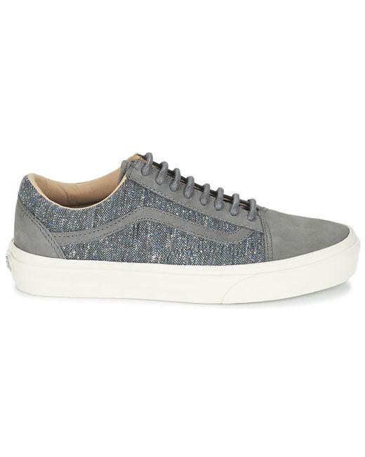En Skool Reissue Old Dx Chaussures Vans Coloris Gris Femmes kPZuOTiX