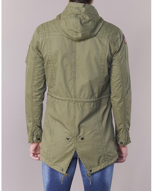 Schott in Nyc Parka Lyst for Green Men's In Stanton Men Green rfqrwYS7