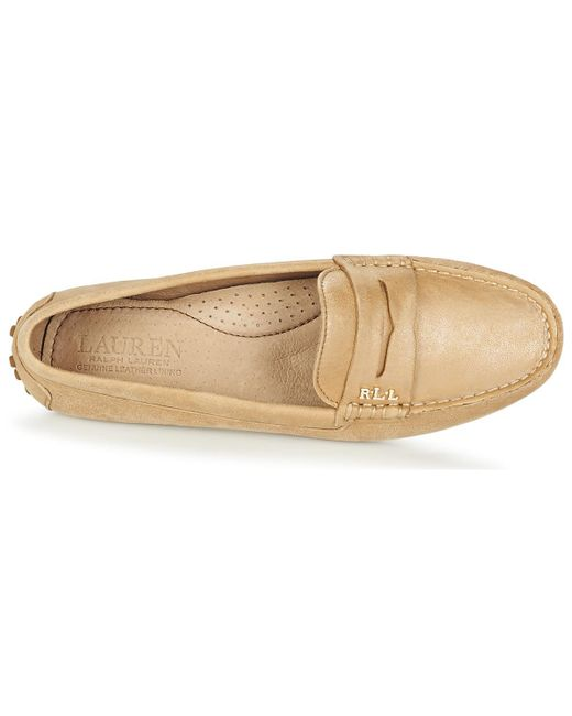Ralph Lauren BELEN FLATS CASUAL women's Loafers / Casual Shoes in