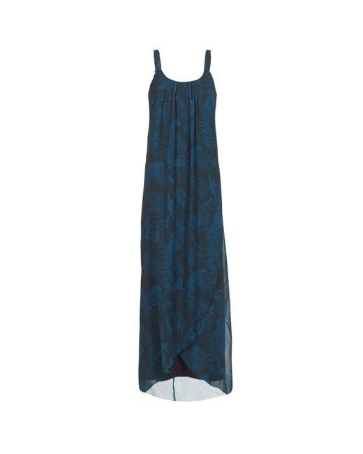 Desigual Paolepa Women\'s Long Dress In Blue in Blue - Lyst