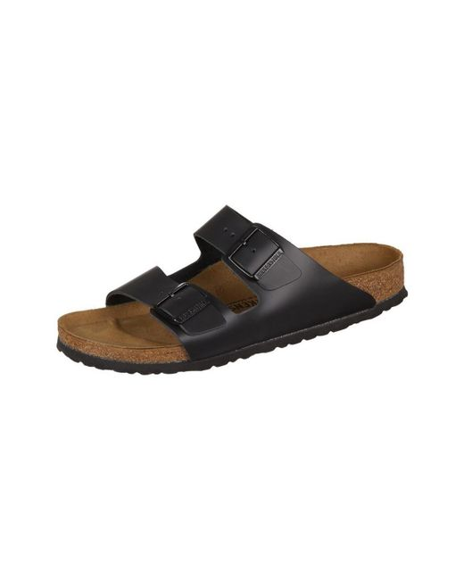 c0fec895b636 Birkenstock - Arizona Leder Men's Mules / Casual Shoes In Black for Men -  Lyst ...