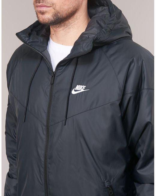 554144d7b7e04 Nike Sportswear Windrunner Men's In Black in Black for Men - Save 25 ...