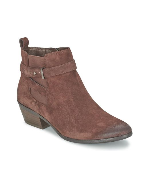 Sam Edelman | Pacific Women's Mid Boots In Brown | Lyst