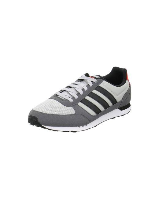 Lyst Adidas City Racer hombre 's zapatos (instructores) en gris en gris para hombres