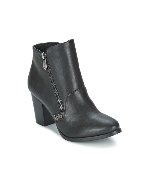 Les P'tites Bombes | Pony Women's Low Ankle Boots In Black | Lyst