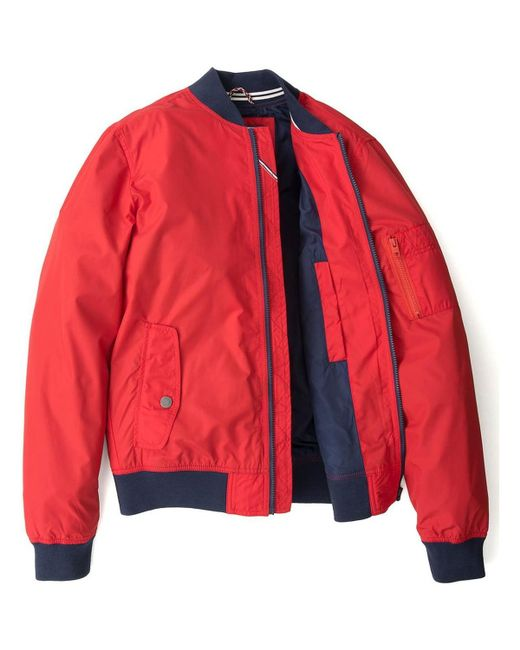 Tommy Hilfiger   Red Classic Bomber for Men   Lyst