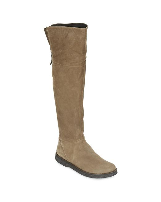 Geox | Natural D Wilder Women's Mid Boots In Beige | Lyst