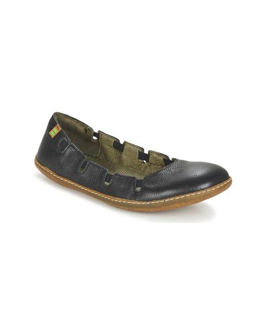 El Naturalista   El Viajero Women's Shoes (pumps / Ballerinas) In Black   Lyst