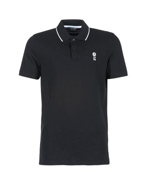 Jack & Jones | Stone Core Men's Polo Shirt In Black for Men | Lyst
