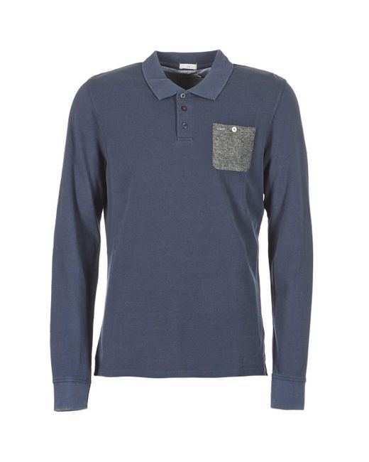 403f7458 Pepe Jeans Precious Men's Polo Shirt In Blue in Blue for Men - Lyst