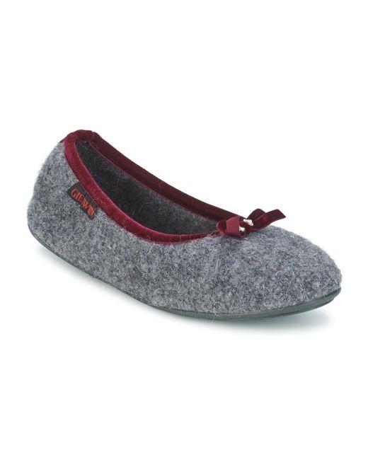 Giesswein - Gray Hohenau Women's Slippers In Grey - Lyst