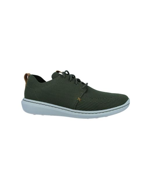 Clarks - Step Urban Mix Zapatos Casual De Hombre Men s Shoes (trainers) In  Green ... 63b7413cc