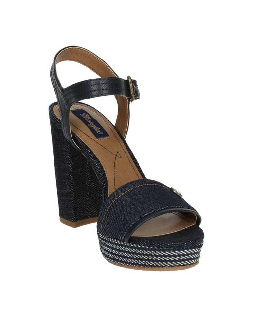 9001f437dd07 Wrangler Wl181644 Women s Sandals In Blue in Blue - Lyst