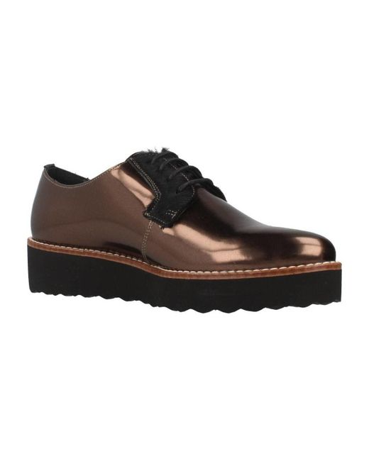 Gas - Black Sirja Lace Women's Casual Shoes In Other - Lyst