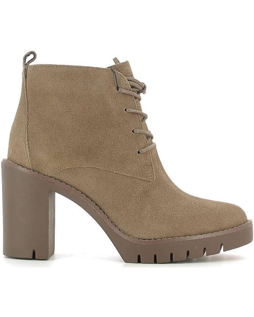 Tommy Hilfiger | Natural Fw56821576 Ankle Boots Women Beige Women's Low Ankle Boots In Beige | Lyst