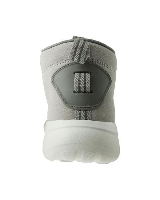 Adidas della lite racer metà scarpe da uomo (high top formatori) in bianco