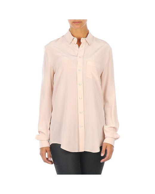 Joseph | Natural Garcon Women's Shirt In Beige | Lyst